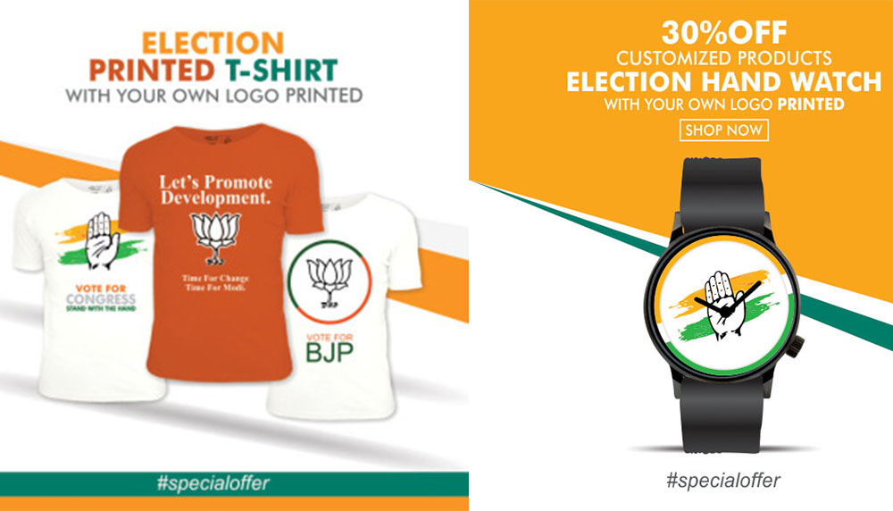 Most Effective or Trending Election Campaign Materials 2019