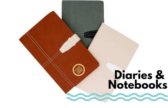 Personalised Diaries And Notebooks