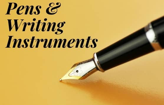 Personalized Writing Instruments