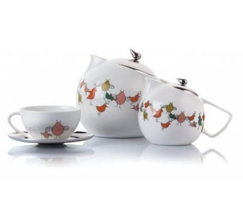 Bird Range - Tea Set