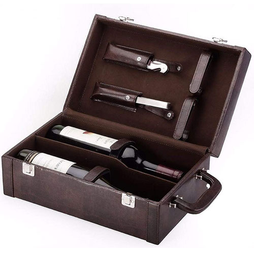 Personalized Wine Box Set with Tools