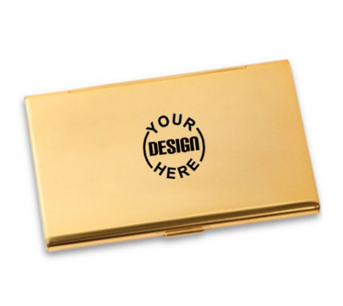 22k Gold Plated Card Holder