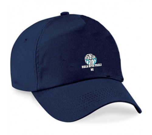 Customized Navy color cap