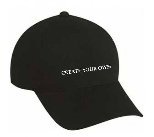 Customized Embroidered Create Your Own Cap