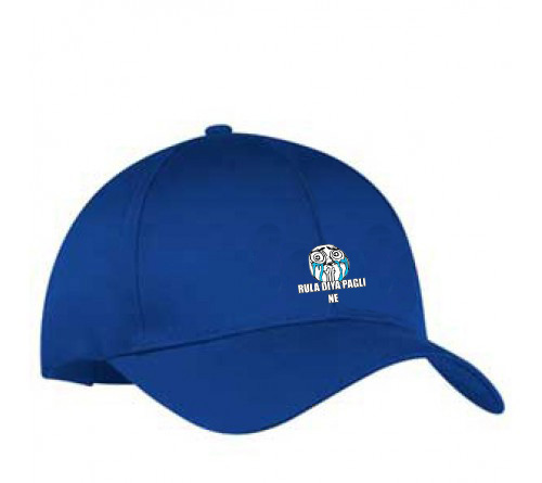 Customized  Printed Royal Blue Color Cap