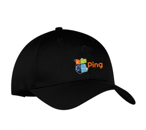 c2846bf13c4 Customized Embroidered Golf Caps Black