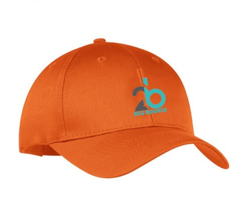 082bae76 Personalized Printed Customized Embroidered Golf Caps Orange ...