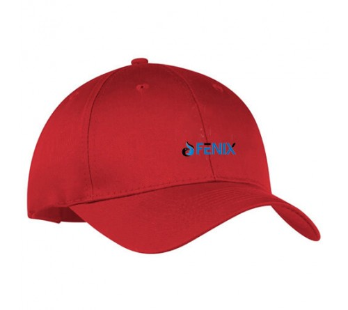 Customized Embroidered Golf Caps Red