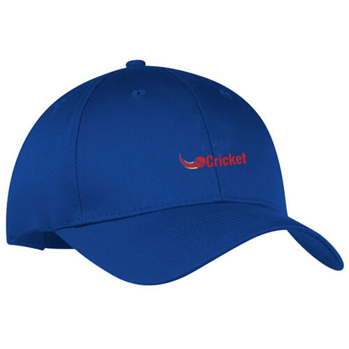 Customized Embroidered Golf Caps Royal Blue