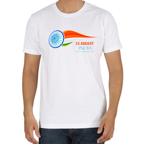 Independence Day White  T-shirts