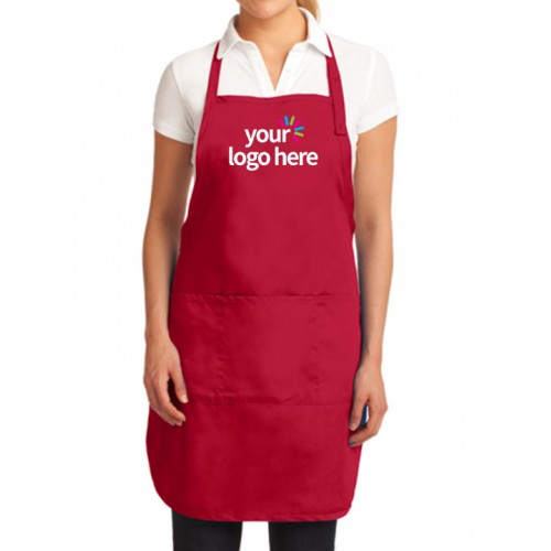 Custom 3 Pocket Bib Aprons