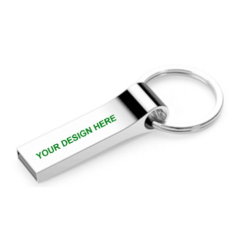 Steel Metal Pen Drive 8GB