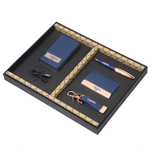 5X1 Business Gift Set Blue