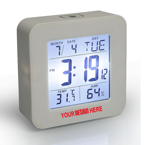 Elegant Square Clock