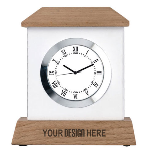 Designer Wooden Table Clock