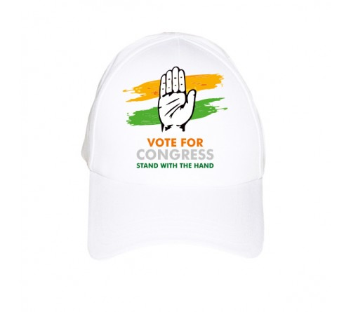 Congress Election Promotional Caps