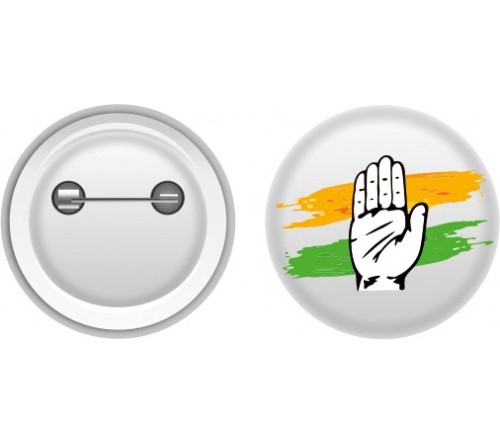 Congress Election Promotional Badges