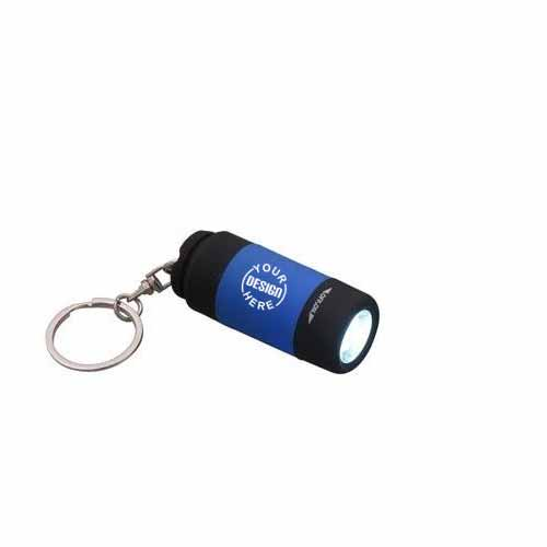 Keychain Torch in Rubber body