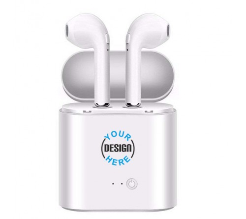 Twin Double Wireless Bluetooth Headset
