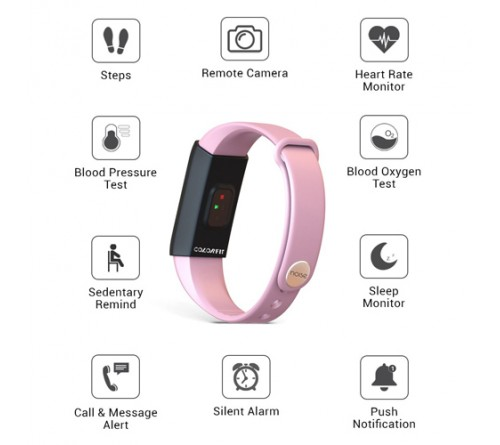 Noise Pink Fitness Band
