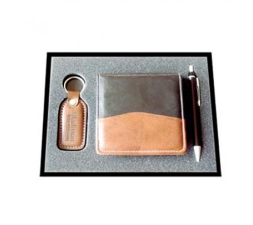 Pen / Slip Box / Leather Key Chain