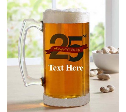 Customized stybuzz printed beer mug