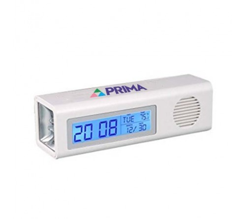 Digital Clock With FM and Torch
