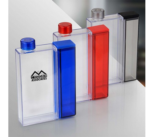 Mini Flask with Snacks Case