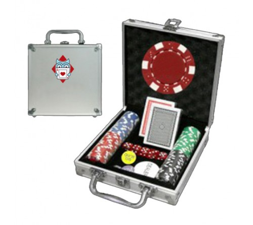 Poker 100 chips game