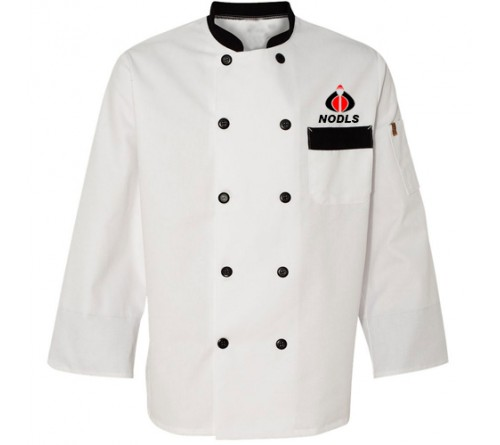Custom Designs Chef Coat White