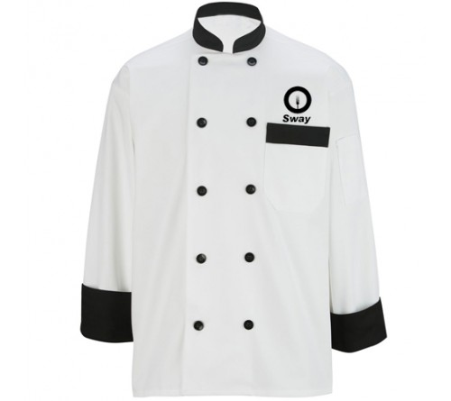 Customized Designer Chef Coat White