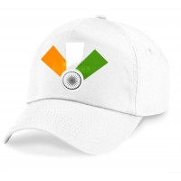 indian tri colour caps