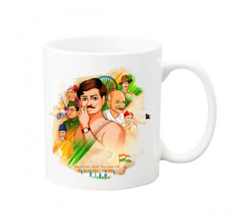 Freedom Fighters Image Printed Mug