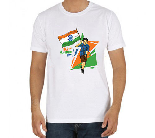 Custom Printed Republic Day T-shirts