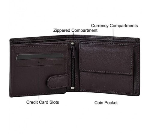 Combo Gifts Set Leather Wallet And Belt