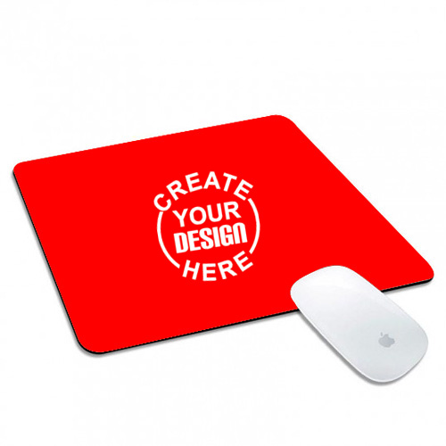 Rectangle Mouse Pad Red
