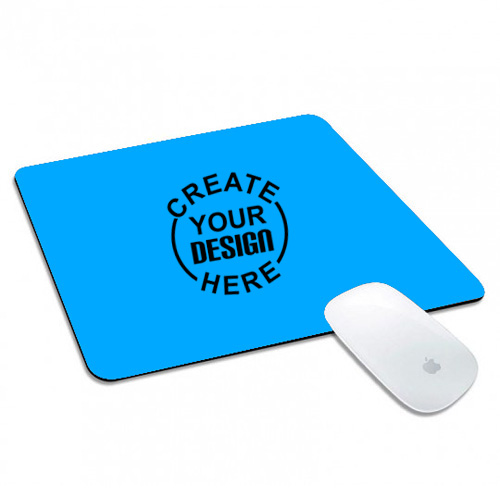 Rectangle Mouse Pad Sky Blue