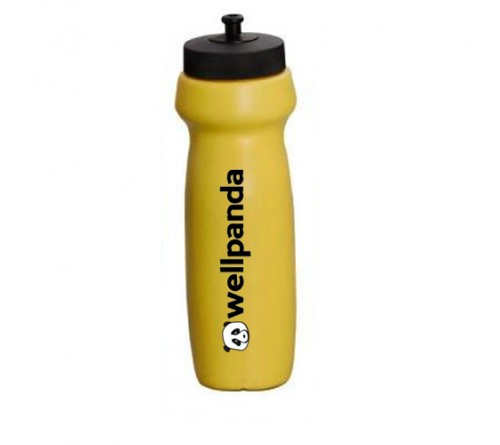 Banana Shape Water Sipper Yellow