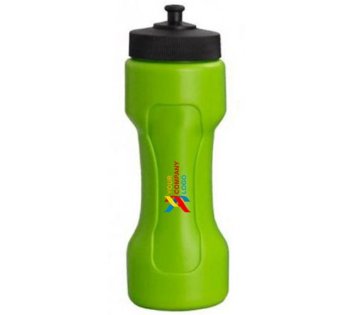 Dumbbell Shape Water Bottle Green