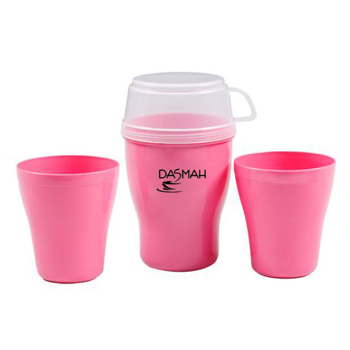 Travelling Glass Set with Cup