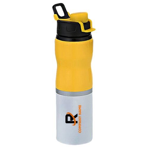 Yellow Dual Colour Bottle