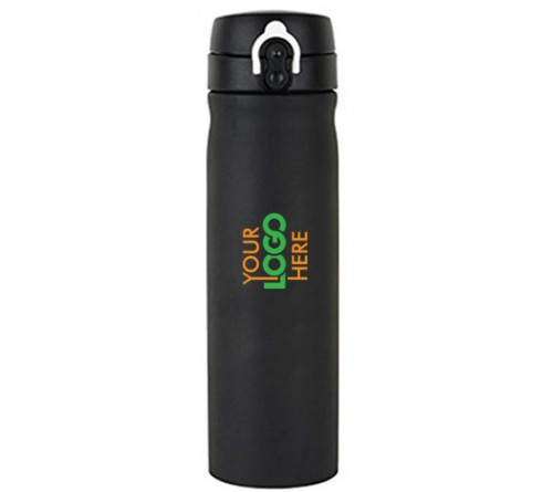 Matt Finish Flask Black