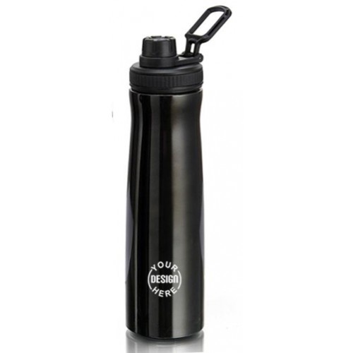 Customized Black Steel Bottle