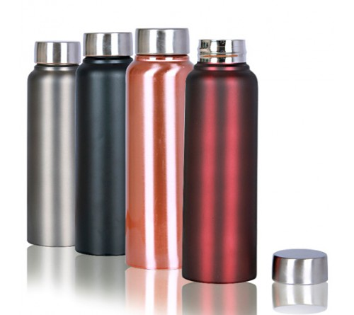 Sleek Stainless Steel Bottle-500ml