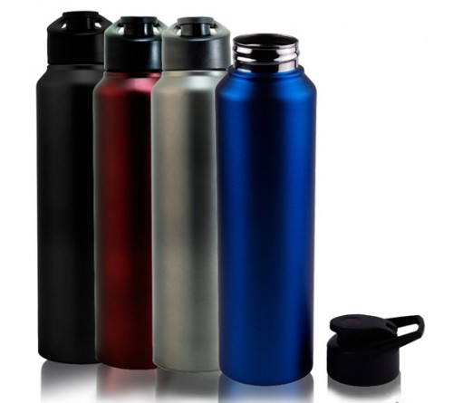 Omega Stainless Steel Sports Bottle-1000ml Bpa Free