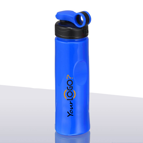 Sleek Sport Bottle With Finger Cap