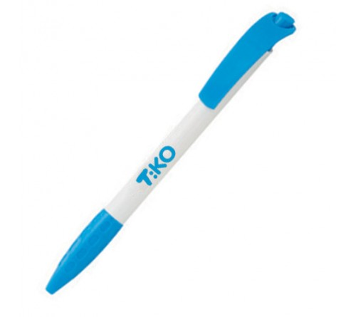 Hot Selling Logo Printed Pen Blue