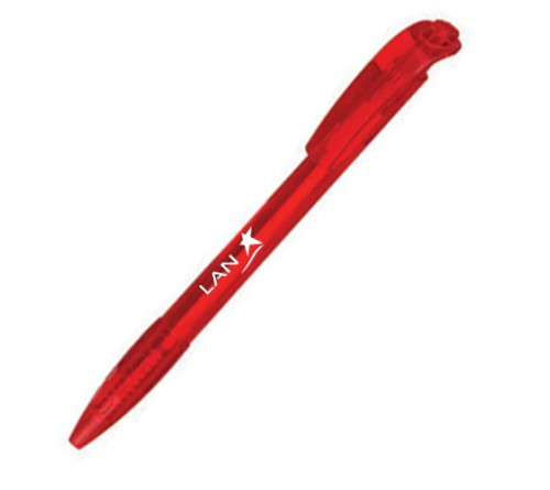 Hot Selling Logo Printed Pen Red
