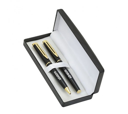 Custom Business Gift Metal Pen Set