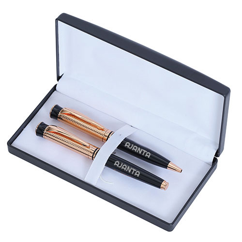 Custom Printed Luxurious Metal Pen Set